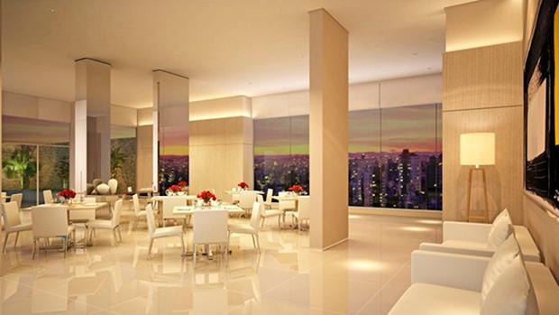 Descubra as vantagens de ter um salão de festas no condomínio  Construtora A -> Decoracao De Banheiro Para Salao De Festa