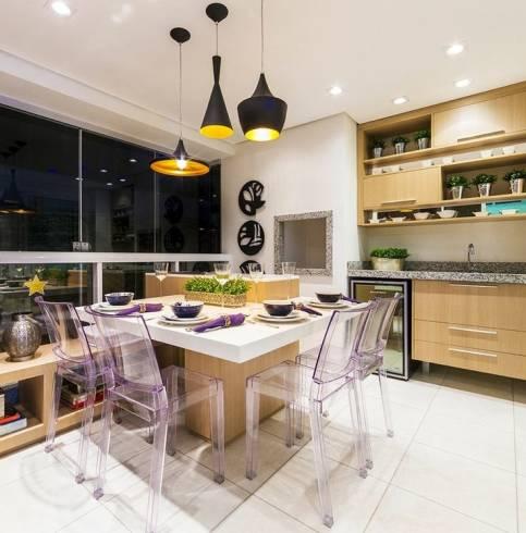 luminária cozinha