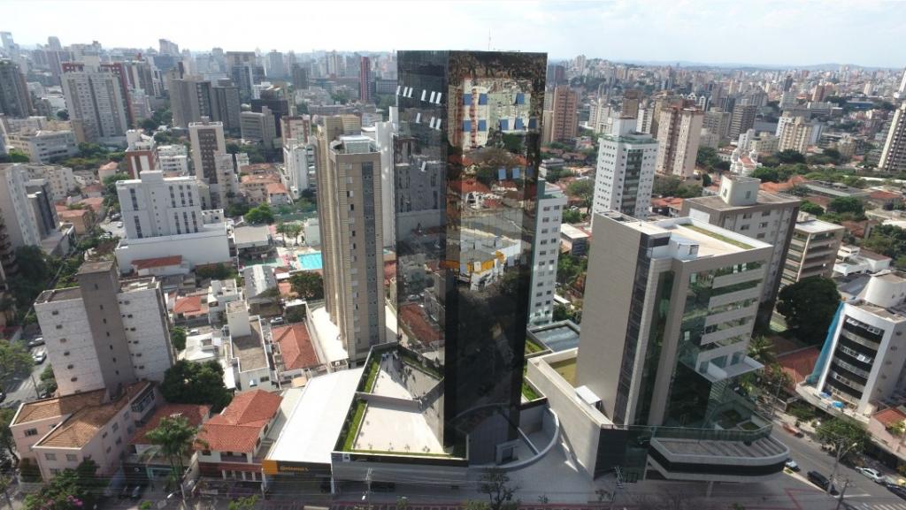 edifício joão gasparini imagem aérea