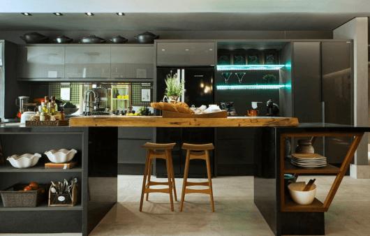 cozinha moderna móveis sob medida