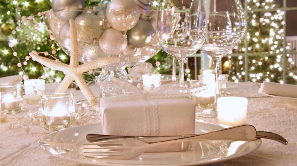 mesa natal branca
