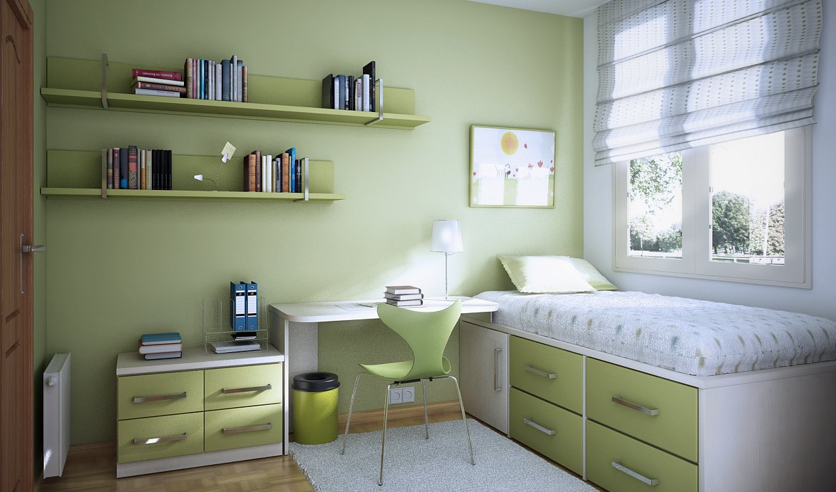 decoracao-quarto-verde