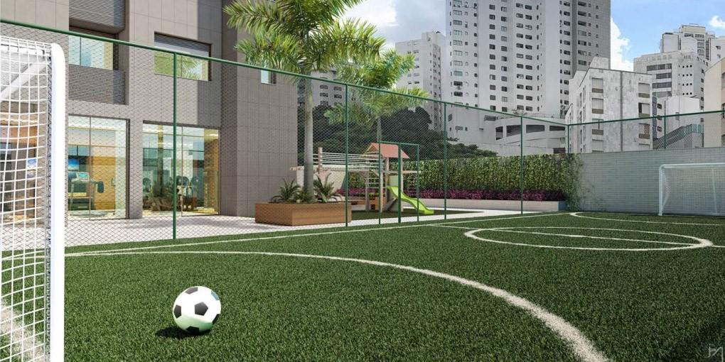Quadra Poliesportiva Empreendimento Residencial Yora / projeto Arquitetônico Construtora Agmar