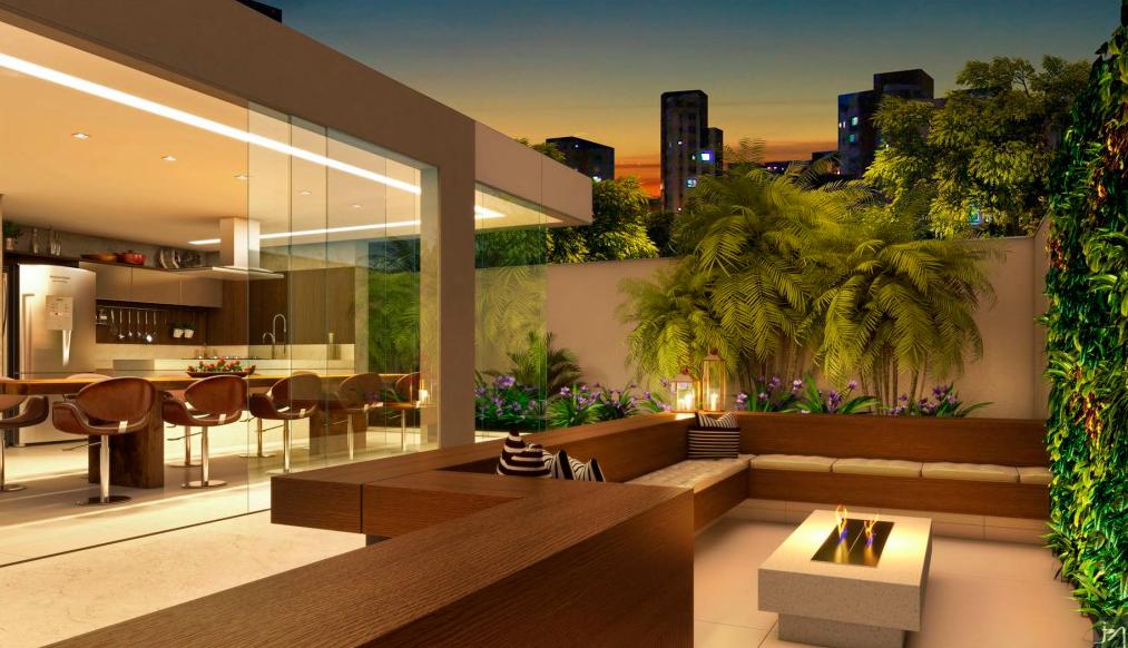 Espaço Gourmet / Empreendimento Residencial Edifício Yora