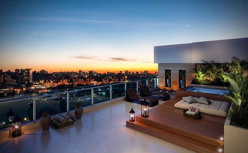 As principais características de um apartamento de luxo