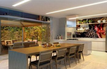 Área gourmet no condomínio: uma opção de lazer